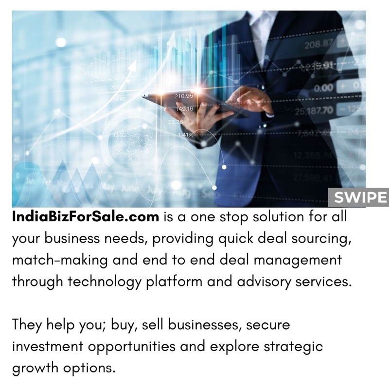 Business made easier, with IndiaBizForSale.com