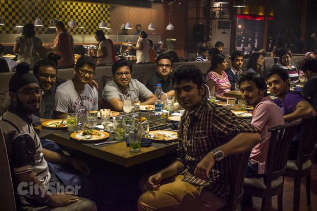 Ahmedabad Foodies Meet | At Charcoaled BBQ