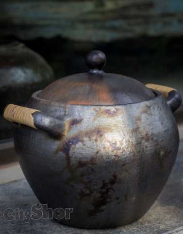 Manipur Black Stone Pottery at Cocomai