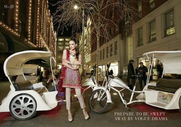 Gorgeous Pakistani Wear Exhibition by Azah Creations