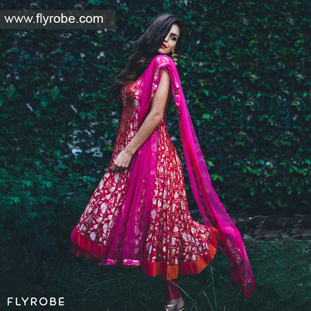 Don't just buy designer wear, rent them on FLYROBE