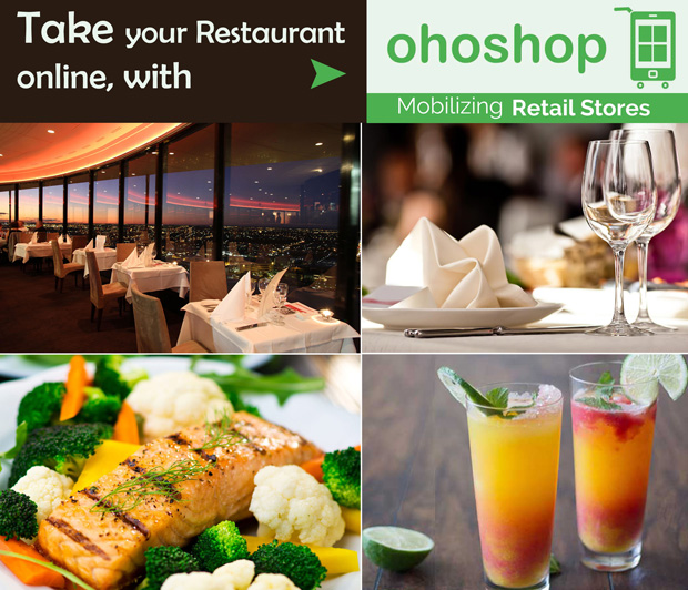 Take your Restaurant online with www.ohoshop.in