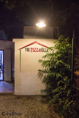 Scrumptious Pizzas by-the-slice at THE PIZZA VILLA