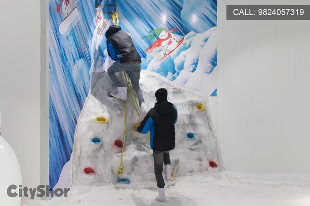 ICEBERG: Snow World invites you to experience Snow in A'bad