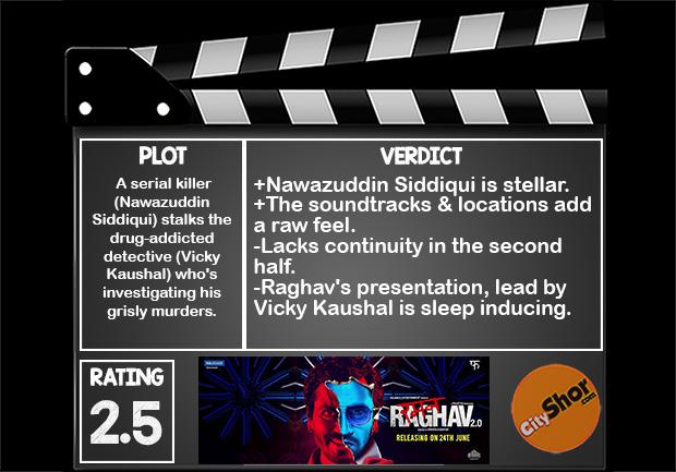 Movie Review - Raman Raghav 2.0