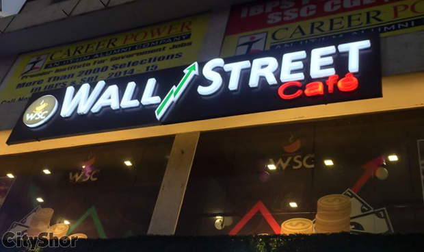 A café with a unique stock exchange theme @ Wall Street Cafe