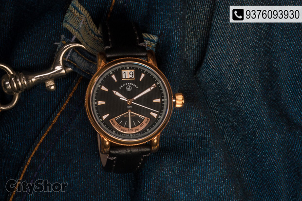 Finest watches by Craig Shelly, Now in India!