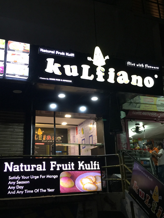 Addition of new 100% natural fruit flavours @ Kulfinao