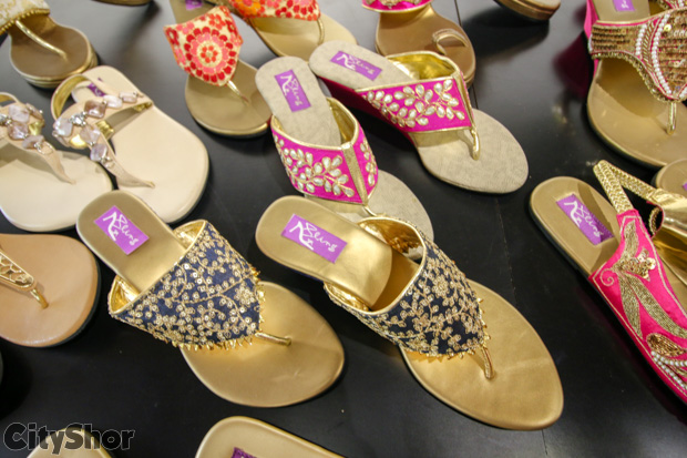 One of the trendsetting exhibitions by Bling Footwear!