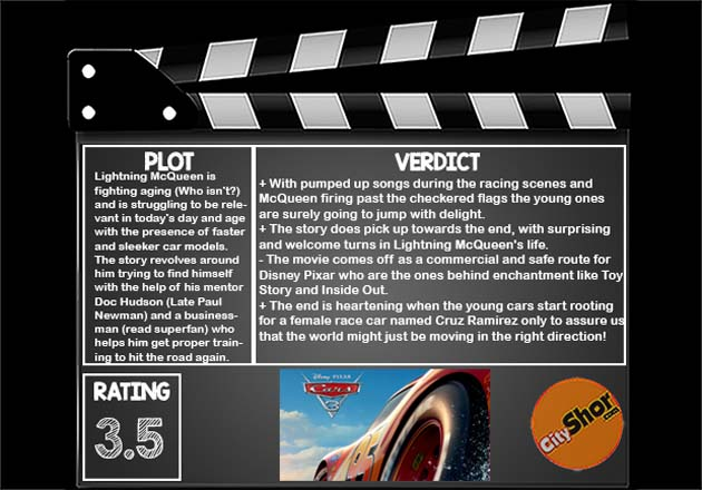 Movie Review : Cars 3