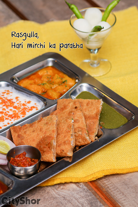 Have your favourite Parathas now with a twist @ MB Snacks