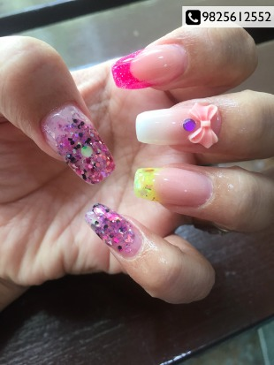 Add beauty & glamour to your nails @ Kanan's Nail Studio