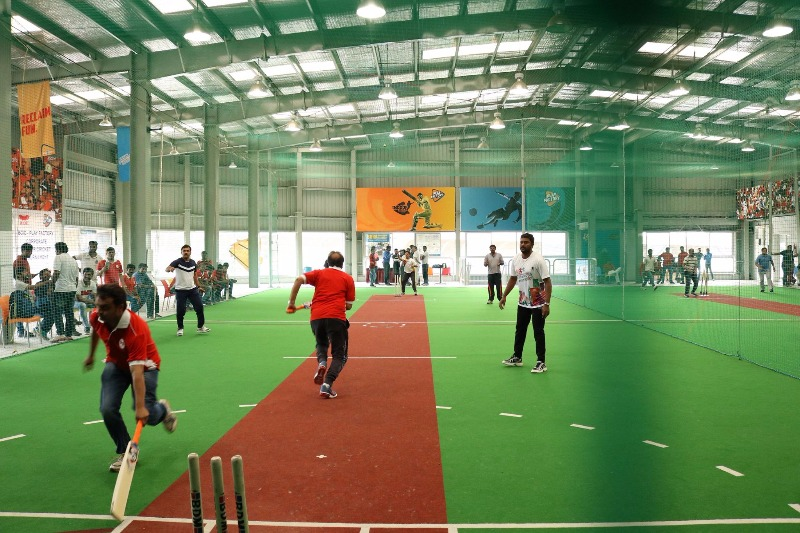 Be A Part Of A Corporate Indoor Cricket Tournament This July