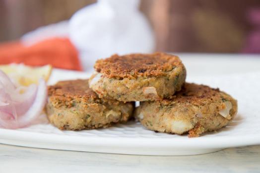 The Famous Ulte Tawe ka Paratha Savoured with Galouti Kebabs