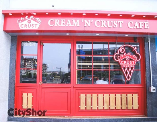 Enjoy The Best Of Savouries & Desserts@ Cream 'N' Crust Café