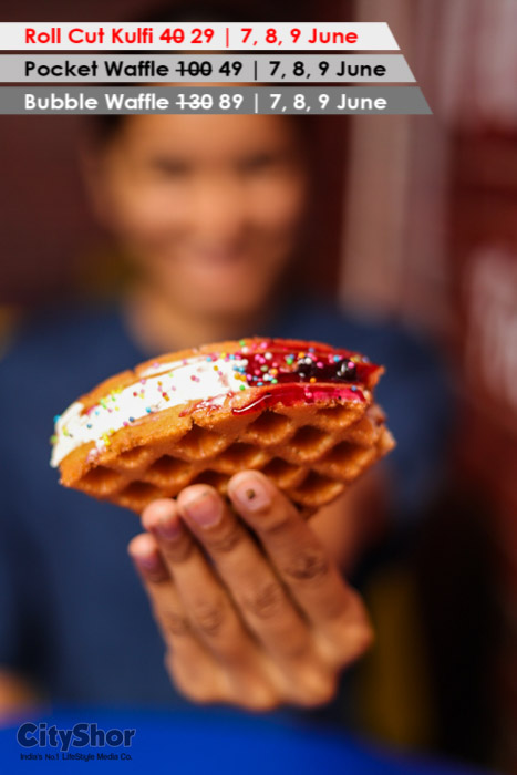 Celebrate summer in style! Get amazing Kulfis and waffles
