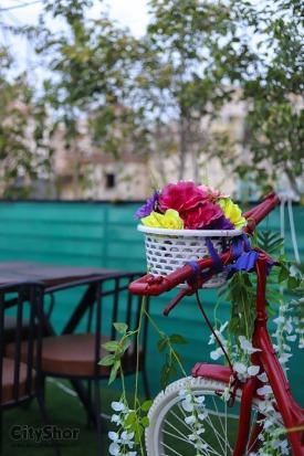 Dine in at new & different, Sky Dine'z, Vastrapur