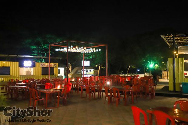 India Vs Pakistan at Society Food Square
