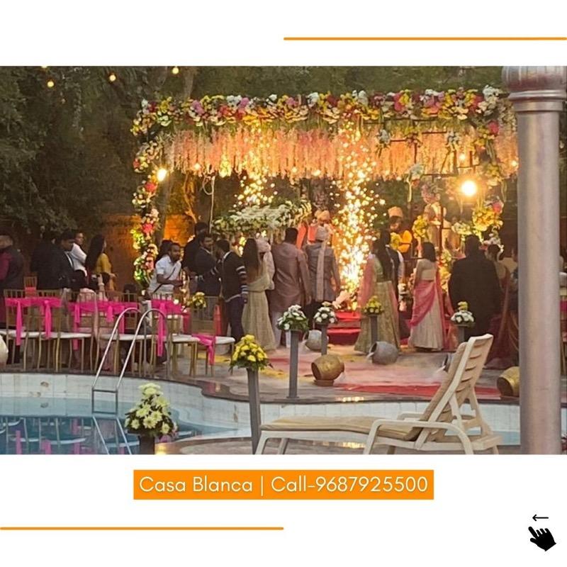 Plan your dream wedding at Casa Blanca