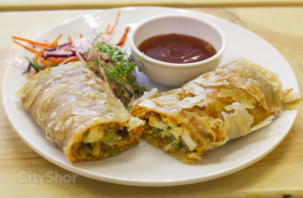 Bombay Street Cafe's new dishes