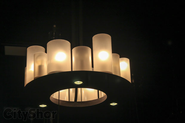 Style Code - Hanging lights are the best here!