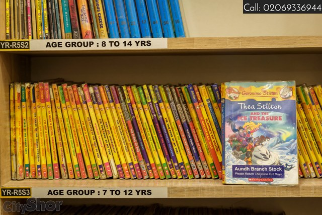Biggest Collection of Children's Books at Just Books Aundh
