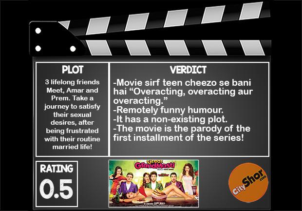 Movie Review - Great Grand Masti