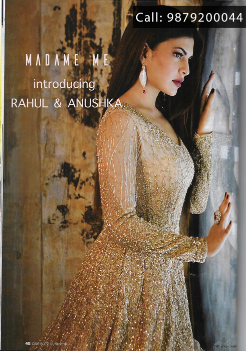 Exquisite designer collection by MADAME ME at Anay Gallery