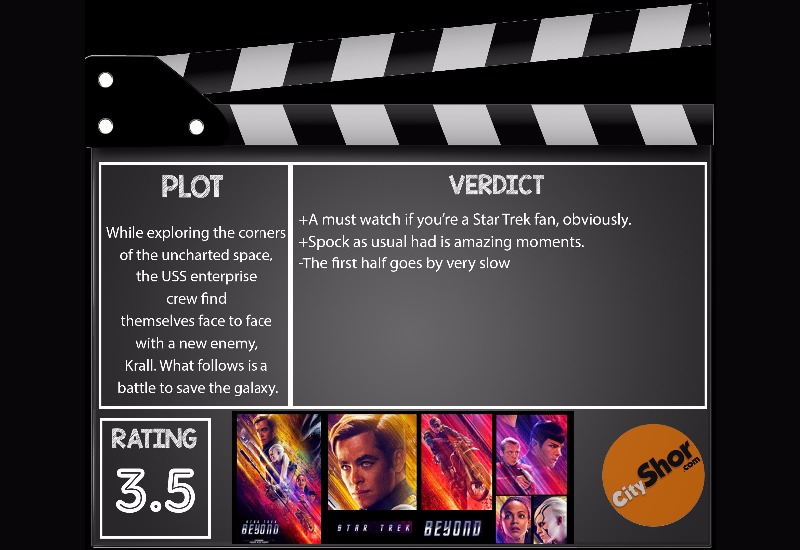 Movie Review - Star Trek: Beyond