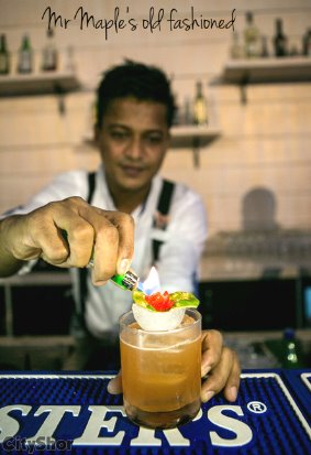 Fine food and Drinks made with Finesse at Liber