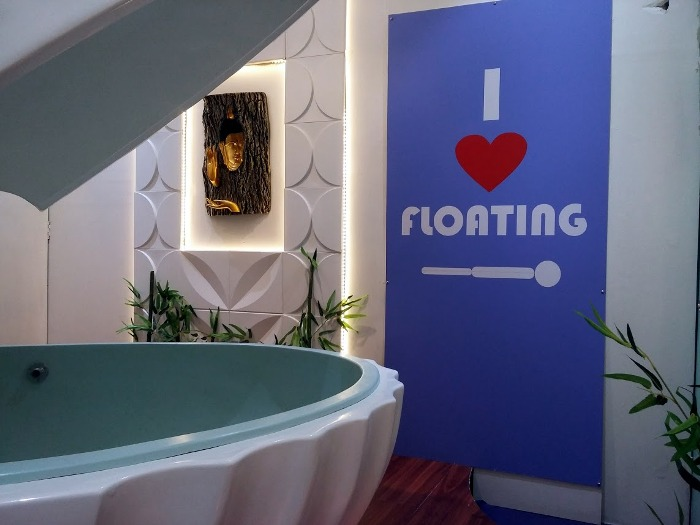 Unwind by Floating Out Your Stress at this Soothing Spa!