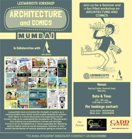 Art and Architecture Enthusiasts, Attend Comic Art Workshop!