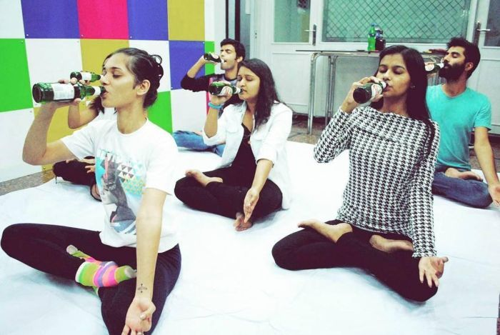 Sweat Out and Have Fun with Beer Yoga on 22nd July!