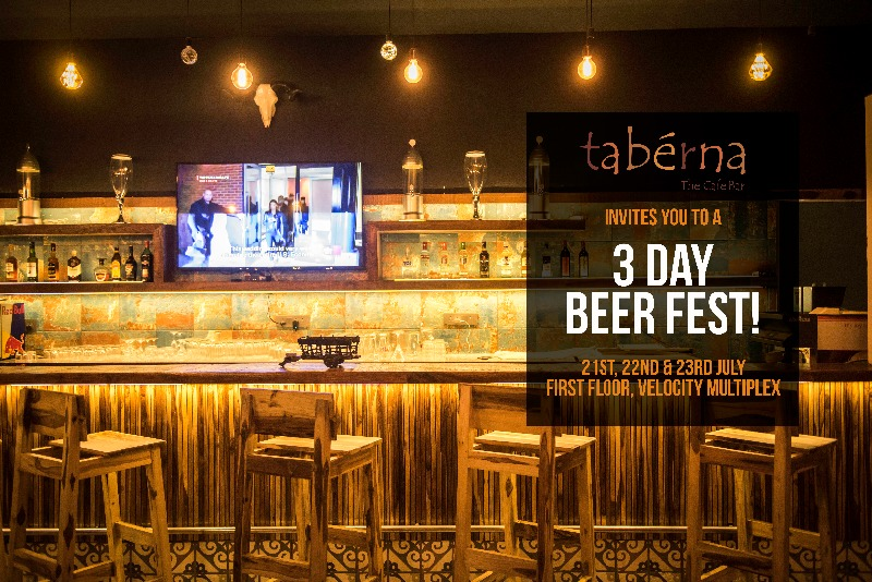 A three-day BEER FEST @ Taberna - The Cafe Bar!