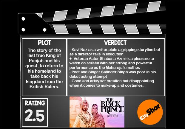 Movie Review   The Black Prince