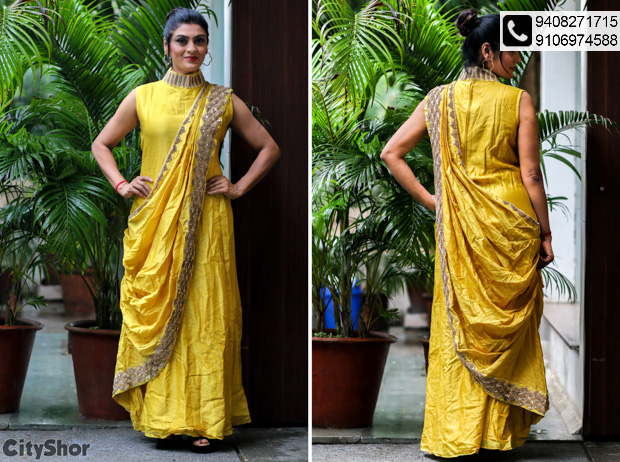 Authentic collection of dress materials @ Juhi's Attire