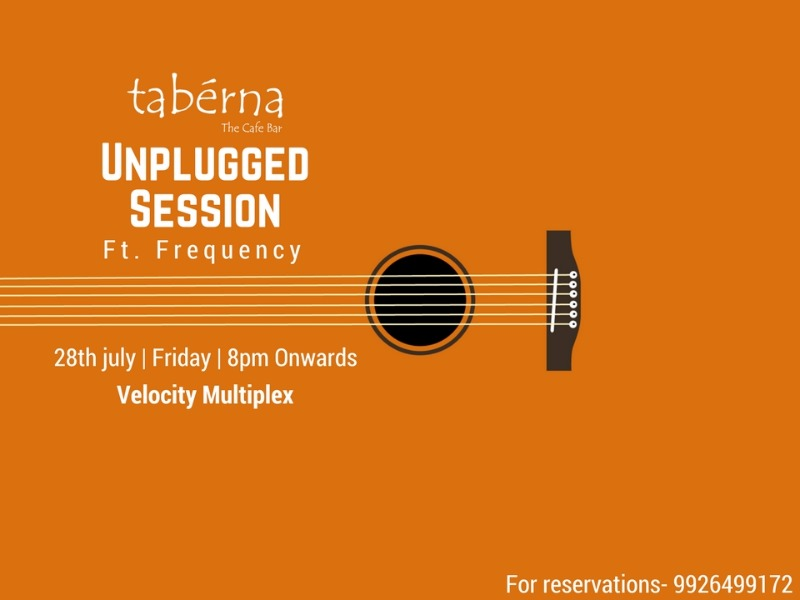 Unplugged night at Taberna - The cafe Bar!