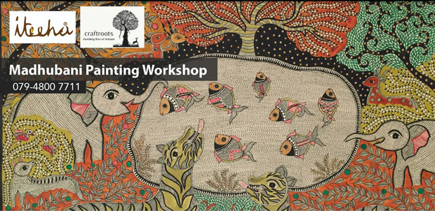 5+ art workshops by Iteeha at Craftroots starting tomorrow!
