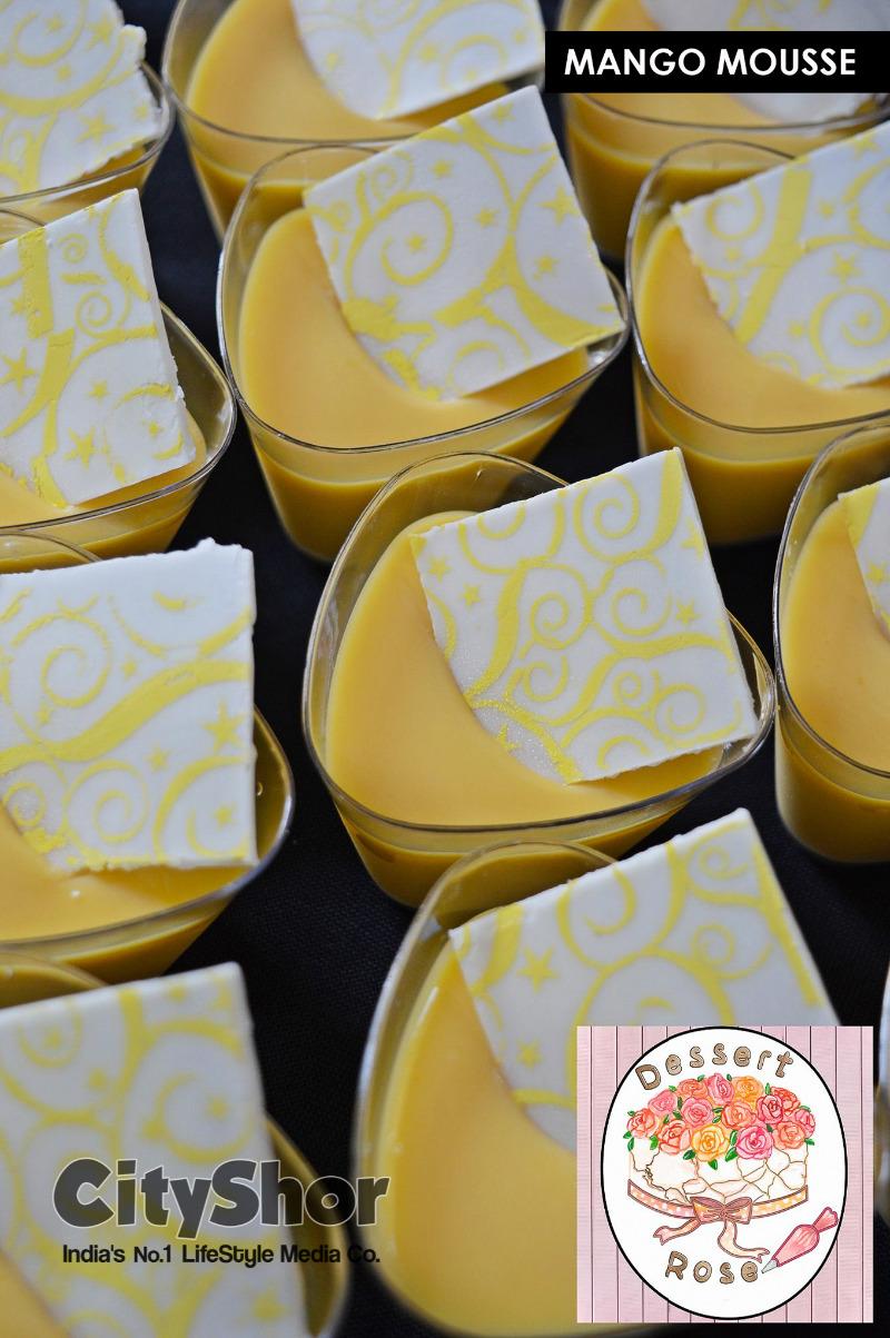 Indulge in heavenly Desserts at Dessert Rose !