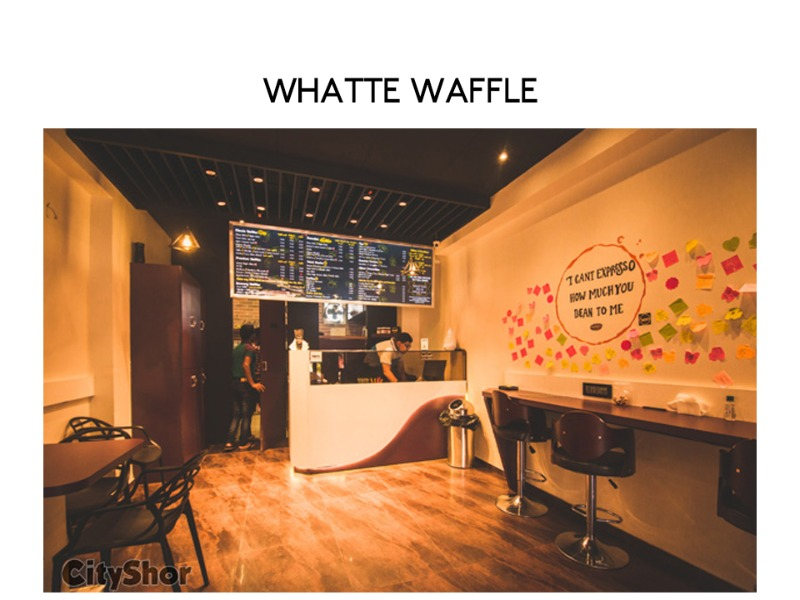 Top 6 Waffle serving places in city