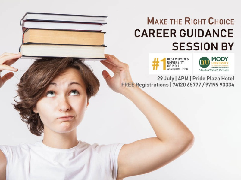 Free Career Guidance Session For Girls By Mody University
