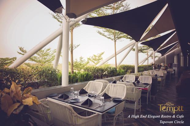 New high end elegant restro n cafe - Temptt