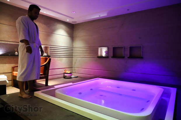 Spa With Jacuzzi Hammam Turkish Bath At The Sheesha Spa And Wellness