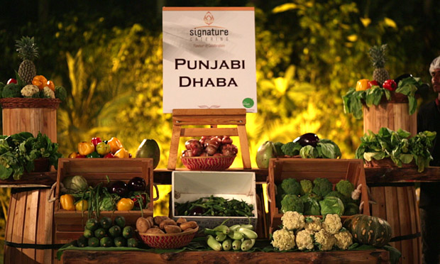 Signature catering by Green Pearl Banquets