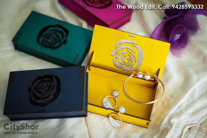 Artsy Wooden Boxes & trays by The Wood Edit