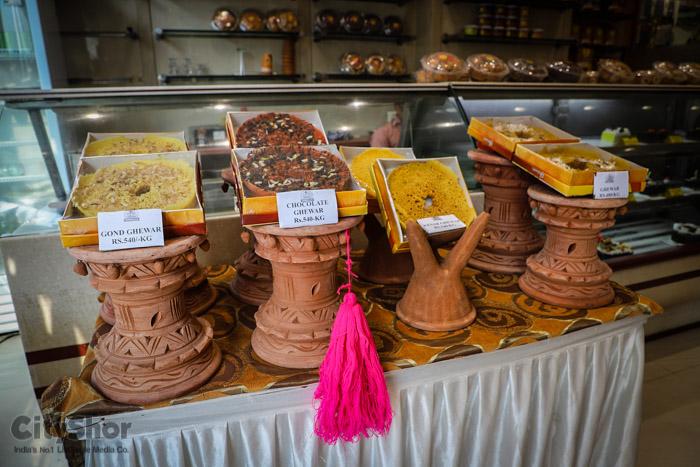 The Ghewar Fest at Gwalia sweets!