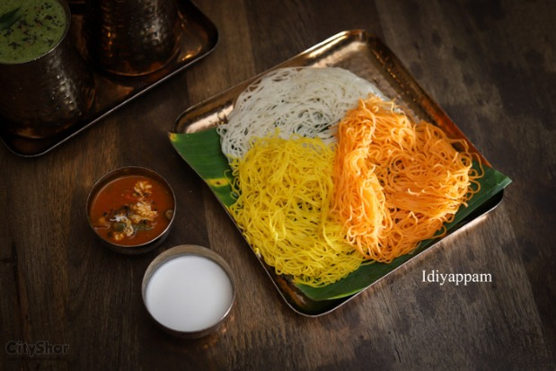 Unlimited South indian buffet in a houseboat @ Vannakkam