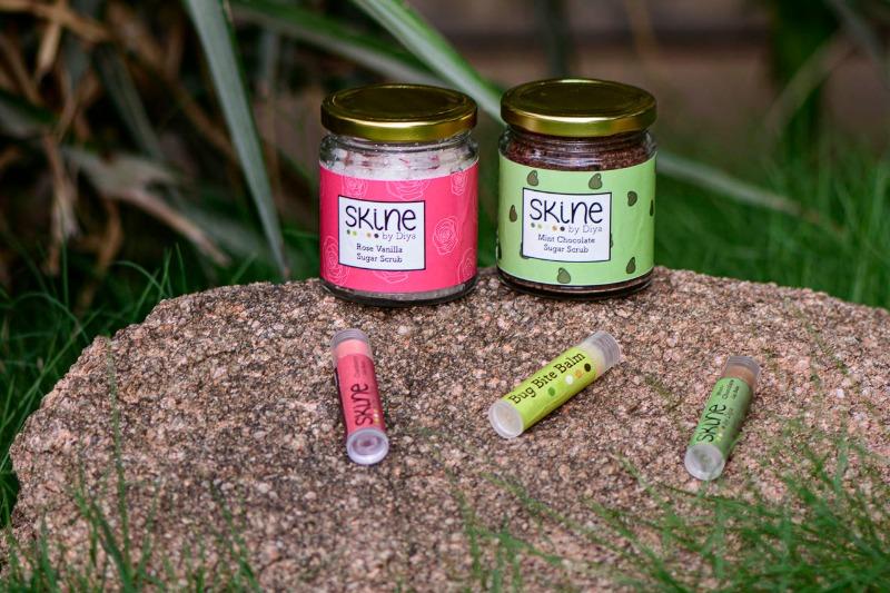 Natural body scrubs lip scrubs lip balm n more Skine by Diya