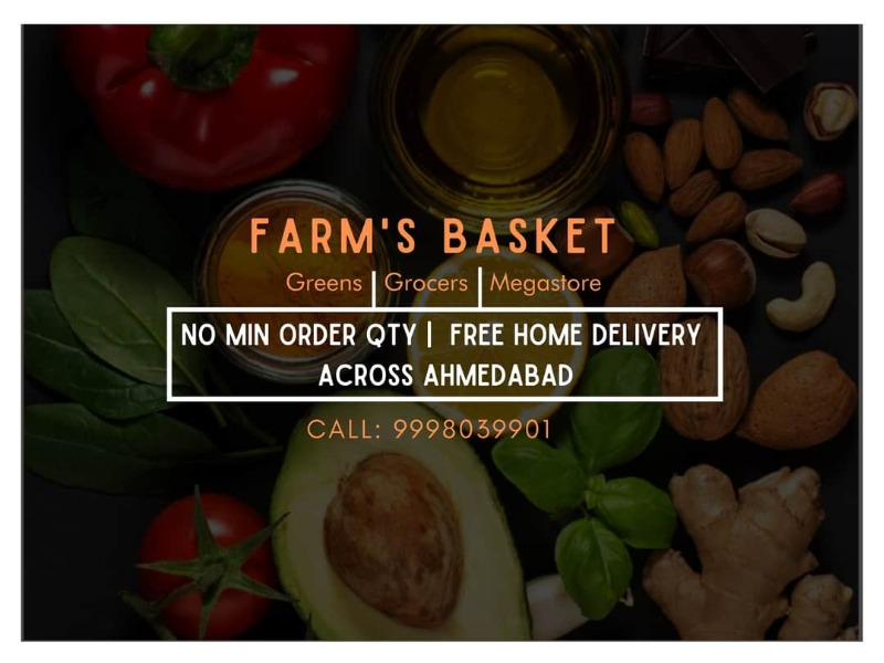 Groceries Greens and more home delivered - Farm's basket