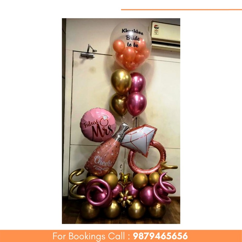 Decorate your Parties with Designer BALLOON BOUQUETS